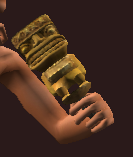 Sandblasted Idol (Equipped)