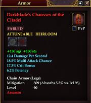 Darkblade's Chausses of the Citadel