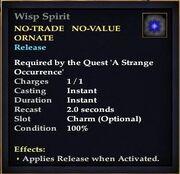 Wisp Spirit