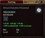 Mined Kaladim Diamond