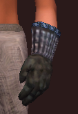 Protector's Moon Etched Leather Gloves (Equipped)