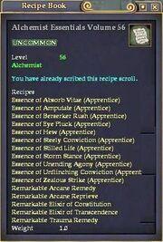 Alchemist Essentials Volume 56