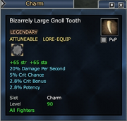 Bizarrely Large Gnoll Tooth