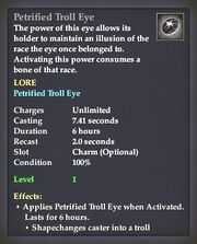 Petrified Troll Eye