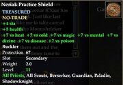Neriak Practice Shield