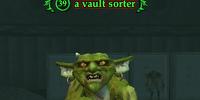 A vault sorter