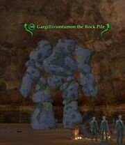 Gargilliviontumon the Rock Pile