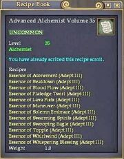 Advanced Alchemist Volume 35