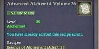 Advanced Alchemist Volume 35