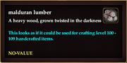 Malduran lumber