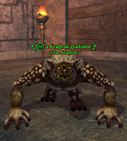 A Kragbak gladiator