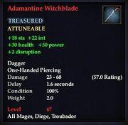 Adamantine Witchblade