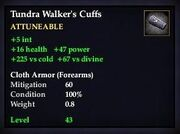 Tundra Walker's Cuffs