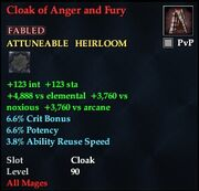 Cloak of Anger and Fury