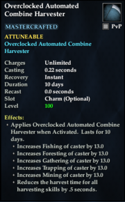 Overclocked Automated Combine Harvester
