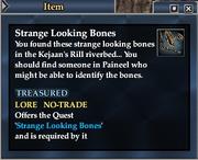Strange Looking Bones (Item)