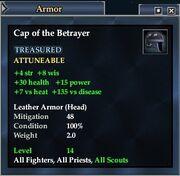 Cap of the Betrayer