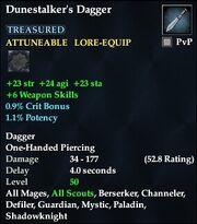 Dunestalker's Dagger