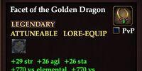 Facet of the Golden Dragon