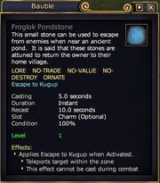 Froglok Pondstone