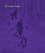 A spirit scamp