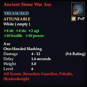 Ancient Stone War Axe