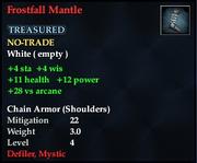 Frostfall Mantle