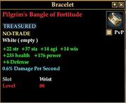 Pilgrim's Bangle of Fortitude
