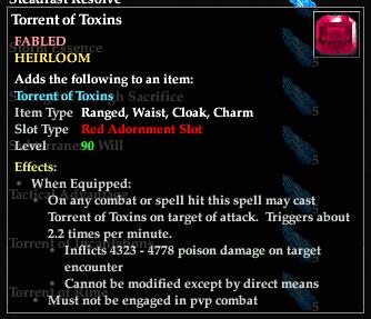 Torrent of Toxins