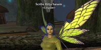 Scribe Hilja Saraste