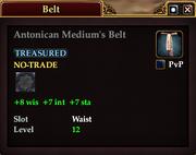 Antonican Medium's Belt