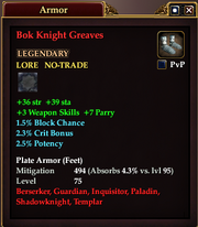 Bok Knight Greaves