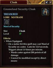 Gnomeland Security Cloak