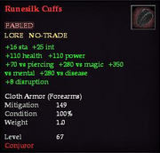 Runesilk Cuffs