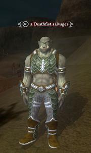 A Deathfist salvager
