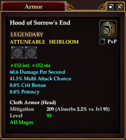 Hood of Sorrow's End