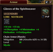 Gloves of the Spiritweaver