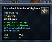 Moonfield Bracelet of Vigilance