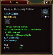 Hoop of the Droag Soldier