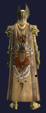 Kaladim Stone Stout cloak (visible)