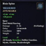 Bixie Spine