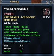 Void-Sheltered Stud
