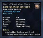 Bowl of Terratrodder Chuck