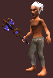Corrosive Mace of Withertalon (Equipped)