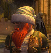 Holly Leaf Frostfell Cap Equipped