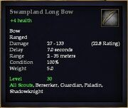 Swampland Long Bow