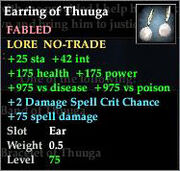 Earring of Thuuga