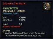 Gnomish Gas Mask