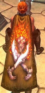 Cloak of the Burning Dead (Visible)