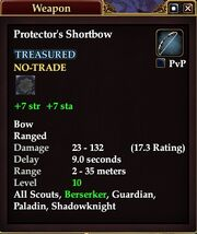 Protector's Shortbow